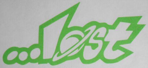 Lost Logo Skateboard Sticker Decal Transfer