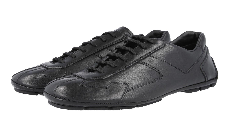 shoes PRADA LUSSO 4E2781 black MONTE CARLO NUOVE 8,5 42,5 43