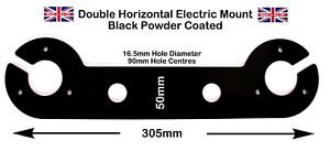 Maypole Double Horizontal Socket Electrical Mounting Plate Tow Bar Fittings