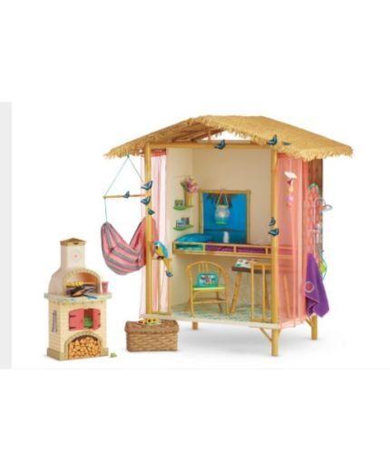 American Girl Lea Rainforest House New In Orig Box 30+ Accessories Amazing