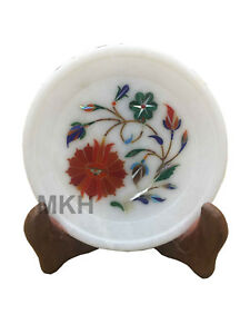 Image Is Loading Decorative Marble Inlay Plate Pietra Dura Inlay Art