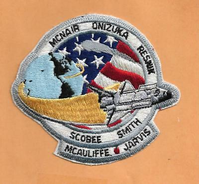 "Brilliant Shuttle Challenger Sts-51-l Resnick 4 1/2 "" Patch Astronauts & Space Travel Historical Memorabilia"