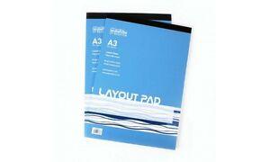 50gsm 80 sheets Seawhite Layout Pad