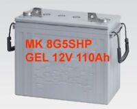 Battery Mr Emergency Plus 1100 Mk 8g5shp 12v 125ah 20 Hr. Gel Deep Cycle Each