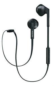 Philips SHB5250 In-Ear Bluetooth Earphone (Black) (SMP4)