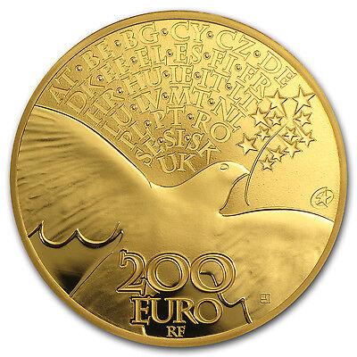 2015 1 oz Gold €200 Europa Series 70 years of Peace in Europe - SKU #88429