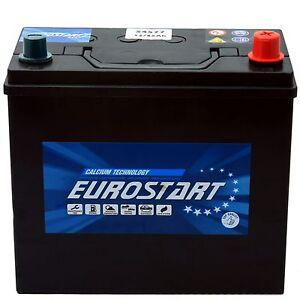 autobatterie starterbatterie eurostart 12v 60ah ersetzt 50ah 55ah 65ah ebay. Black Bedroom Furniture Sets. Home Design Ideas