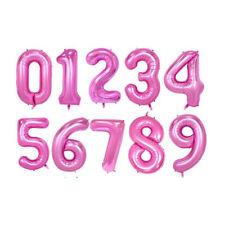 Pink Sparkle 38, CTI Balloons Foil Balloon 433305 Number 5