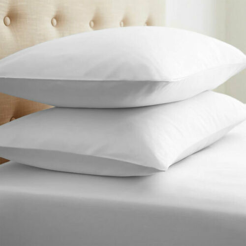 1x 2x Pack Premium Brushed Cotton Pillow Cases Thermal Flannelette Pillow Cover