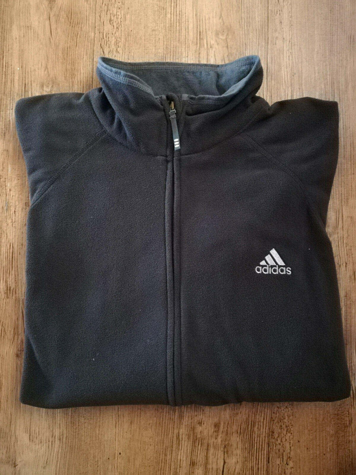 Adidas Giacca in Pile Uomo Sport Giacca in Pile Nero nuovo