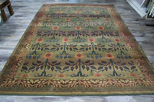 William Morris Style Arts Amp Crafts Mission Area Rug Free