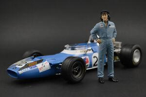 Jackie Stewart Figure Pour 1:18 Tyrrel P34 Tsm