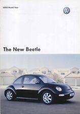 VW Volkswagen Beetle Hatchback 1.6 2.0 1.8T V5 Sport 2003-04 Original Brochure
