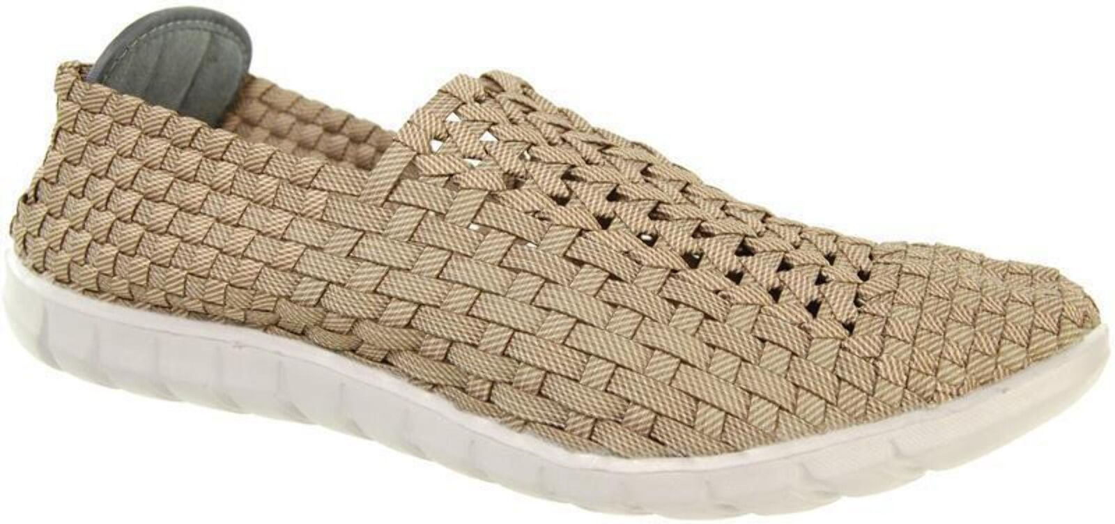Adesso Jake A4387 Rattan Mens Elasticated shoes