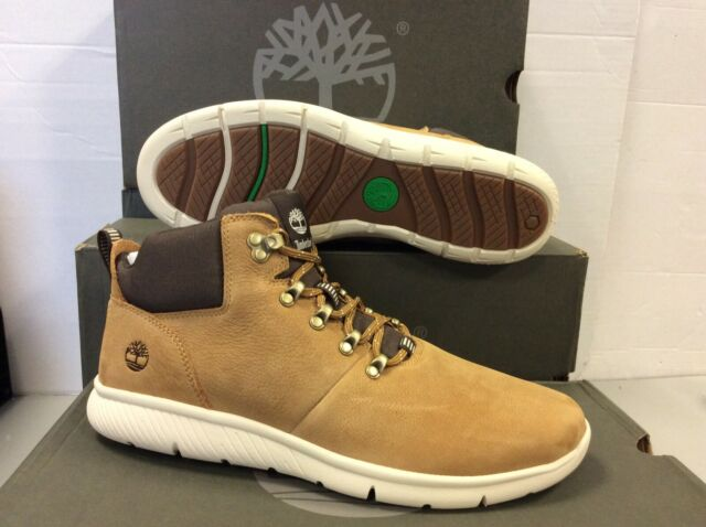 sports shoes 537d9 8707a Timberland Boltero Leather Mens Mid Boots Shoes, UK 9.5 / EU 44