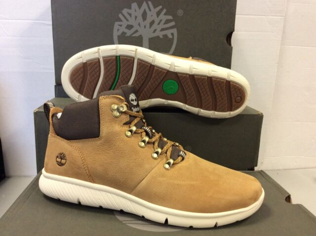 sports shoes 3998f 7cbc5 Timberland Boltero Leather Mens Mid Boots Shoes, UK 9.5 / EU 44