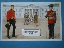 POSTCARD ADJUTANT GENERAL'S CORPS - STAFF & PERSONAL SUPPORT BRANCH