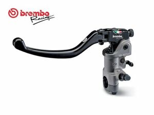 "Brembo 16RCS Adjustable Radial Clutch Master Cylinder 14mm 15mm + 6"" Tygon Tube"