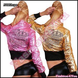 Veste-femme-ete-Femme-Sexy-Tatouage-court-veste-REDIAL-taille-uk-8-10-12-nouveau
