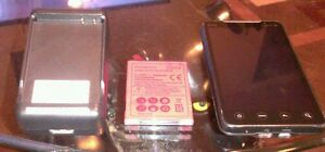 HTC-EVO-4G-CLEAN-ESN-EXTRA-WALL-CHARGER-AND-BATTERY-BUNDLE
