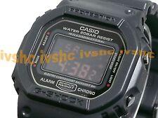 CASIO G-Shock DW5600MS-1 DW-5600MS-1 ALL BLACK RED EYE Free Ship !