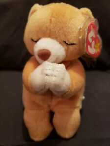 Ty Inc Beanie Baby Hope the Praying bear EXCELLENT Condition MWMT ... 4de2a4e4e96a