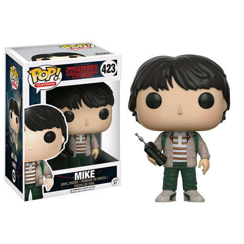 Stranger Things - Mike with Walkie Talkie Pop  Vinyl Figure NEW Funko