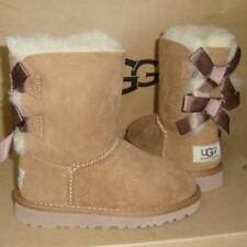 0c65762bb0e UGG Australia Bailey Bow Kids BOOTS 3280t Peacock Feather Size 8 for ...