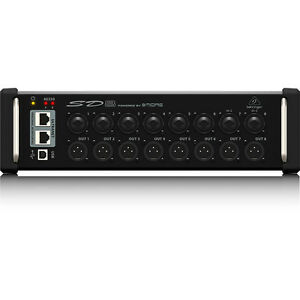 Behringer-SD8-I-O-Stage-Box-Digital-Snake-w-Remote-Control-Preamps-XLR-Outputs