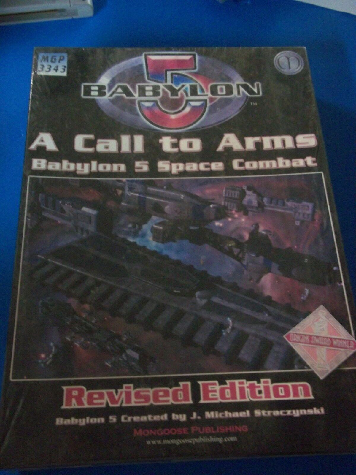 BABYLONE 5 A Call to Arms Space Combat édition révisée Scellé