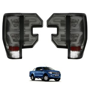Ford Ranger T6 Raptor 2012-2015 SMOKED XO LED Rear Tail Lights - Set of 4