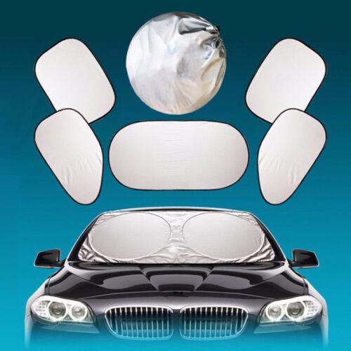 6tlg Sonnenblende Scheibenabdeckung Auto Sonnenschutz Windschutzscheibe Faltbare