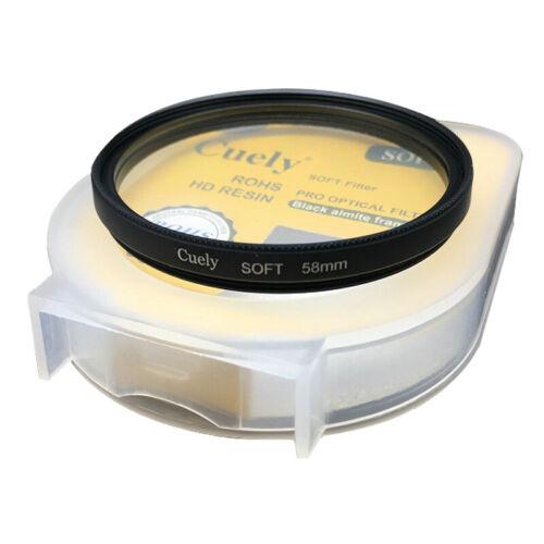 40.5//55//62//77//82mm Difusor de enfoque suave de ensueño brumoso retrato Filtro para casmera