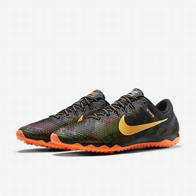 NEW NIKE ZOOM RIVAL XC Racing Spikeless TRACK Shoes MENS Black Orange Limited