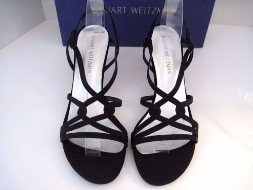 5 BridalEvening Collection B Way Heels 647245191676 Black Stuart My 4 On Peau Weitzman qSUGzVpM