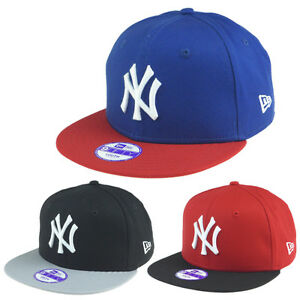 NEW-ERA-Cappello-NEW-YORK-YANKEES-Bambino-034-Cotton-Block-034-Cap-SNAPBACK-Nuovo-NY-V