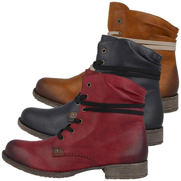 Rieker Eagle-Ambor Stiefel Schuhe Antistress Stiefelette Schürschuhe Stiefel Eagle-Ambor Boots 70829 d09836