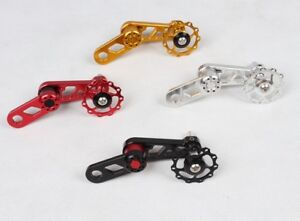 Single Speed Oval Chainring Chain Tensioner Converter Seeker 11T CNC Alloy
