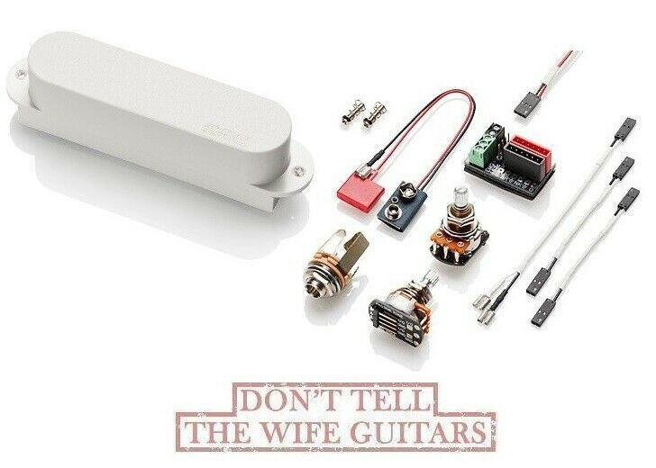EMG FTX Weiß SINGLE COIL TELE NECK PICKUP FENDER TELECASTER REPLACEMENT & WIRES