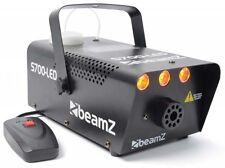 MACHINE A FUMEE EFFET FLAMMES 700W A 3 LED AMBRE 1W AVEC TELECOMMANDE