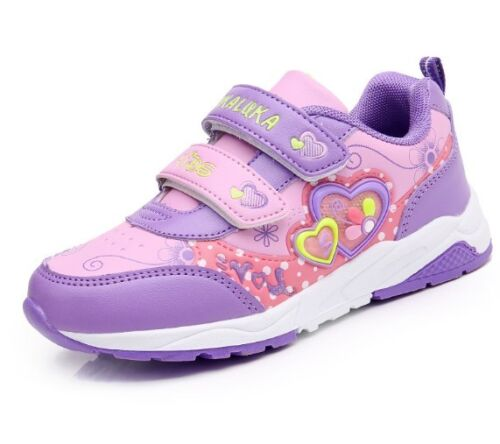 2018 Fashion Sports Shoes for Children Girls Running Shoes Princess Sneakers