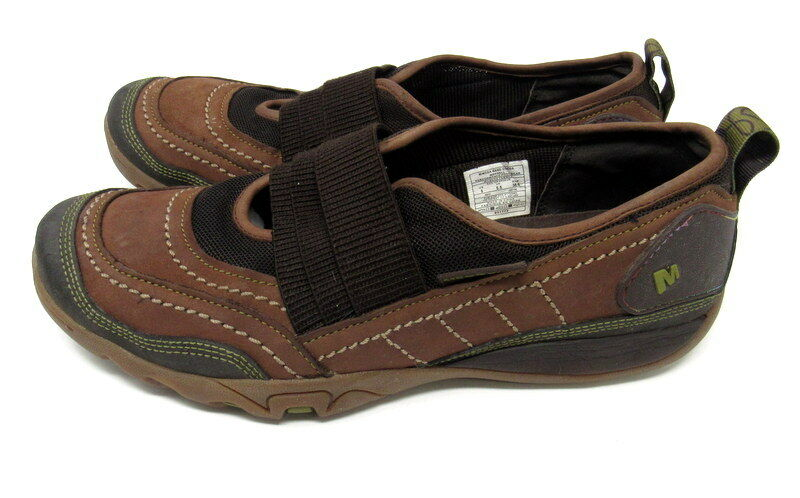 Merrell Mimosa Band Cocoa Womens Brown Slip On shoes Size 8