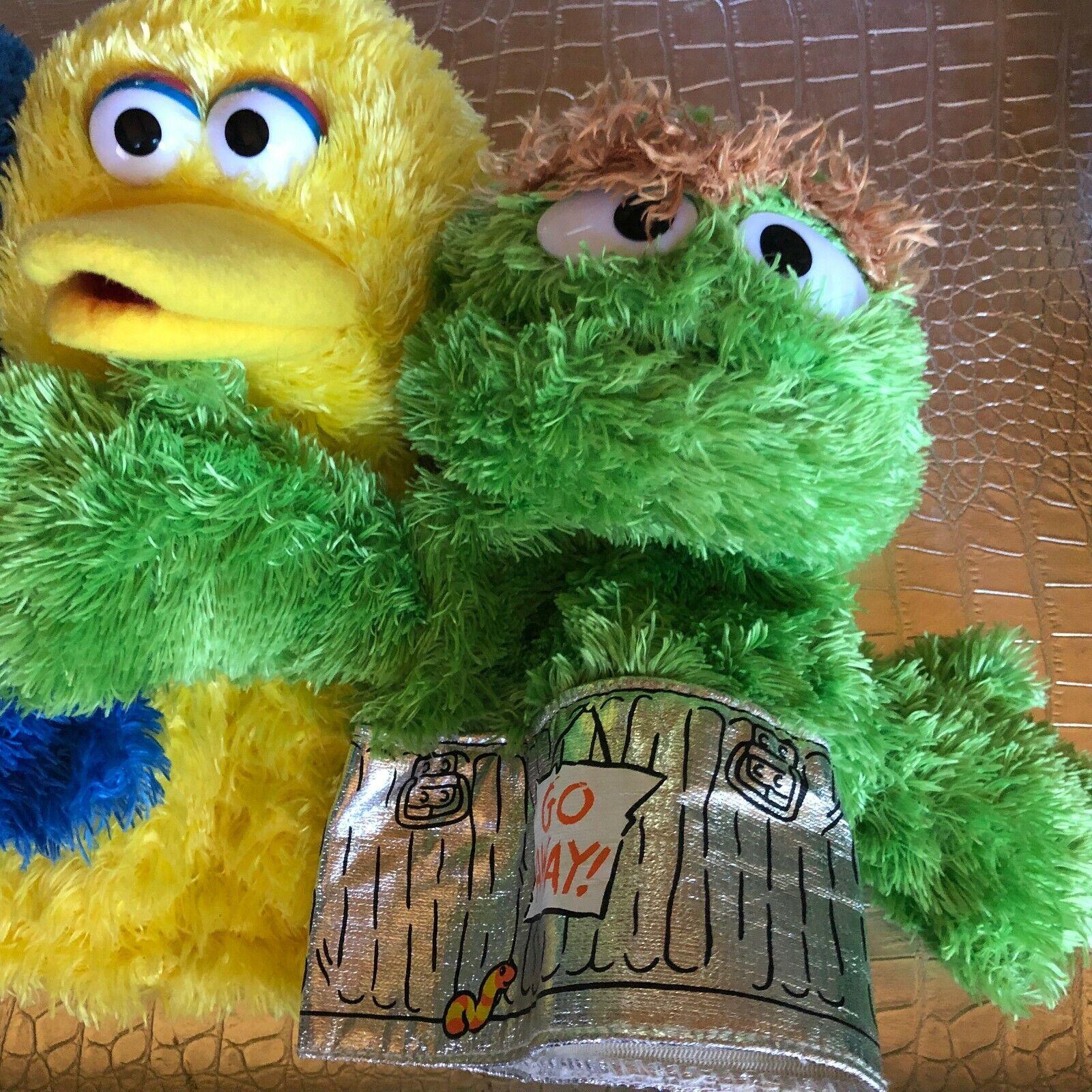Vintage Hand Puppets Sesame Sesame Sesame Street, German