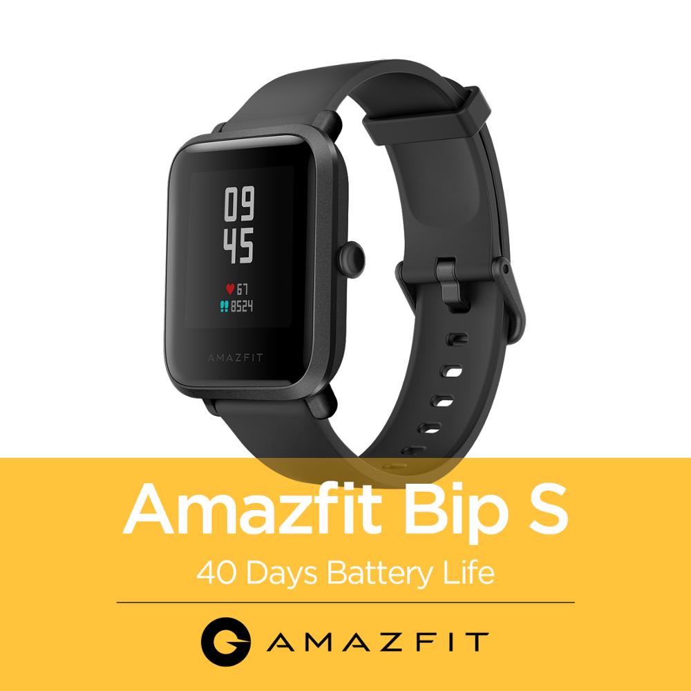 Huami Amazfit Bip S Smart Watch Heart Rate Fitness Sport Monitor 5ATM Waterproof amazfit bip Featured fitness heart huami monitor rate smart sport watch