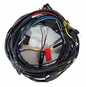 ford mustang headlight wiring harness from firewall image is loading 1966 ford mustang headlight wiring harness from firewall