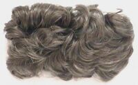 Womens Pull-through Curly Hair Topper Wiglet Hairpiece Enhancer Crown Accordion