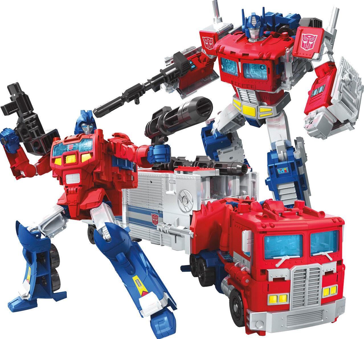 Die generationen macht der primes - anführer optimus prime orion pax neue