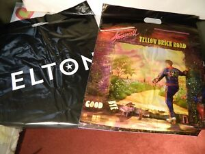Elton John Collectable Farewell Tour Concert merchandise plastic bag