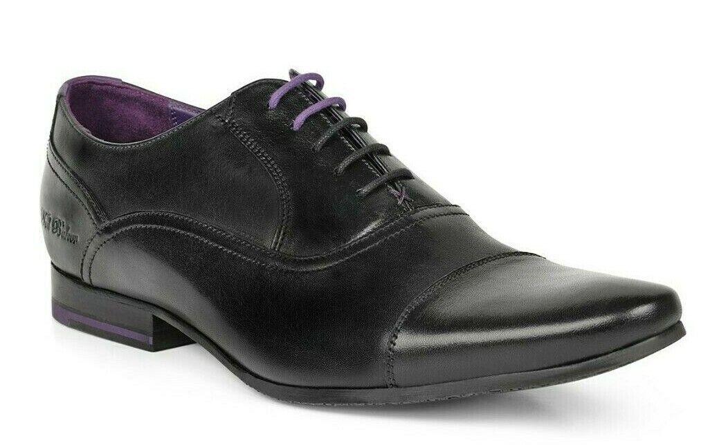 Ted Baker Rogrr 2 Men's Cap Toe Lace Up  Leather Oxford scarpe nero Dimensione 10.5  per il tuo stile di gioco ai prezzi più bassi