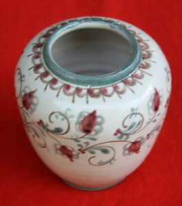 Trenzinger 21642-hanovre-de Vase-- Handbemalte Vase Fr-fr Afficher Le Titre D'origine Les Catalogues Seront EnvoyéS Sur Demande